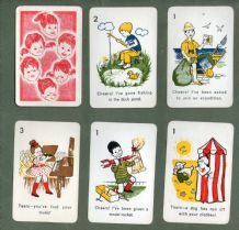 Vintage Collectible cards game Cheers & Tears  1963 by Waddington